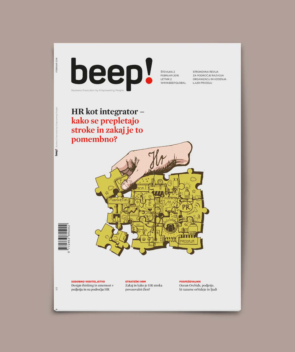 Beep hr&m cover illustration